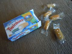 Miniature Twinkies Box and Handmade Twinkies Snack Cakes 1:12 Scale Mini Dollhouse Food Collectible on Etsy, $24.00