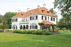 "symmetrical dutch manor,  ""egheria"" (love a manor with a name)"
