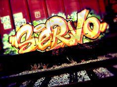 Graffiti on a train 2