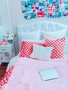 Room Ideas Bedroom, Bedroom Decor, Bedroom Inspo, Preppy Bedroom, Cute Room Ideas, Pretty Room, Aesthetic Room Decor, Fashion Room, My New Room