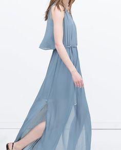 ZARA - NEW THIS WEEK - LONG LAYER DRESS