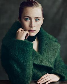 Saoirse Ronan by Paolo Roversi for The NY Times T Style Magazine Luxury Winter 2013