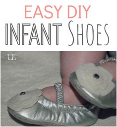 Make your little one some cute shoes easily with this simple and creative DIY fashion tutorial.