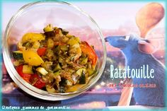 Recette Ratatouille aux tomates cerises Zucchini, Cabbage, Challenge, Vegetables, Ethnic Recipes, Food, Cherry Tomatoes, Kitchens, Food Porn