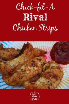 Chick-fil-A Rival Chicken Strips - without all the nasty added ingredients, and gluten/grain-free!