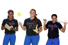 Aleshia Ocasio, Lauren Haeger and Kelsey Stewart are Florida's 2015 All-Americans.