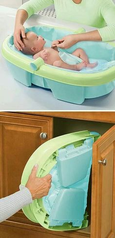 Folding baths