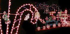 100 Miles of Lights - Virginia #Yuggler #KidsActivities #Holiday