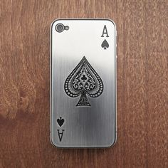 iPhone 4/4S Ace of Spades