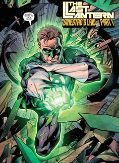 Hal Does His Talking With His Ring in Hal Jordan and the Green Lantern Corps #1