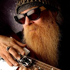 Billy Gibbons - ZZ Top - Also Angela's dad on Bones!