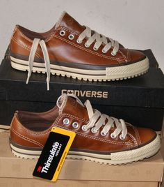 NEW AUTHENTIC CONVERSE ALL STAR CHUCK TAYLOR LEATHER BOOT OX MEN'S 10 in Clothing, Shoes & Accessories, Men's Shoes, Casual | eBay