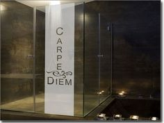 """carpe diem"" #glas #tattoo #bad"