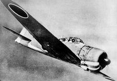 "1939: World War II. Mitsubishi ""Zero"", Japanese fighter."