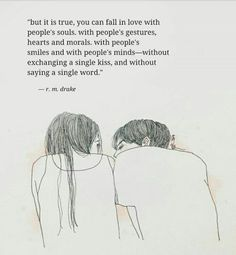 I fell in love with his soul. Poem Quotes, True Quotes, Words Quotes, Wise Words, Sayings, Qoutes, Karma Quotes, Wisdom Quotes, Pretty Words