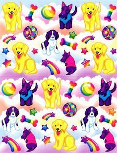 Lisa Frank on Pinterest | Stickers, Dolphins and Rainbows