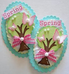 Site for handmade paper embellishments- great ideas