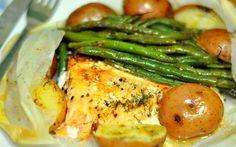 Papillote de saumon et petits légumes thermomix. Une délicieuse recette de Papillote de saumon et petits légumes, facile et rapide a préparer