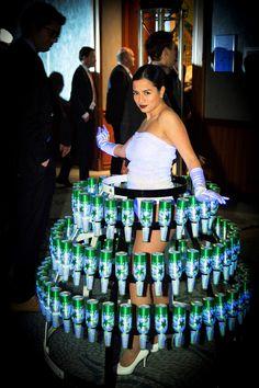 CuliRok for HEINEKEN - Beer - f&b presentation - new bottle - Amsterdam - Events