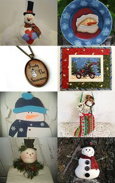 Who does not love a Snowman? by Cindi on Etsy--Pinned with TreasuryPin.com