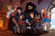 If Harry Potter was an animated Disney film