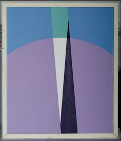 Crockett John, 1966, Measurement of the Earth (Eratosthenes) painting