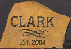 Great Christmas idea www.nextinstone.com NEXT IN STONE - Custom Etched Stones and Rock Engraving - Canyon and Amarillo, Texas