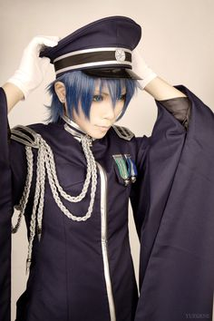 YUEGENE(YUEGENE) KAITO Cosplay Photo - WorldCosplay