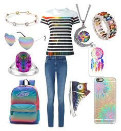"""""""Daughter of Iris"""" by a-ms-winchester on Polyvore featuring Vans, Casetify, Mary Katrantzou, Ippolita, Full Tilt, Rainbow, Niquesa, Calvin Klein and Converse"""
