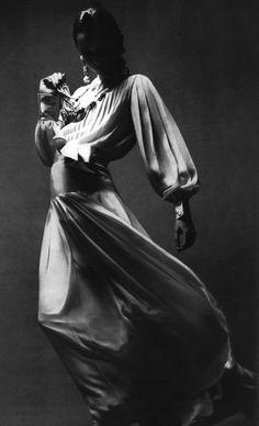 Dior in Vogue Paris, March 1969. Photo: Guy Bourdin.
