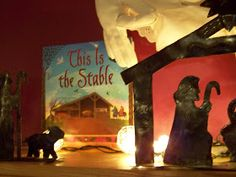 We Talk of Christ, We Rejoice In Christ: This Is The Stable...Christmas Book Activity: Day 6