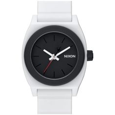 Nixon 'Star Wars - Time Teller Stormtrooper' Faux Leather Strap Watch,... ($75) ❤ liked on Polyvore featuring men's fashion, men's jewelry, men's watches, stormtrooper white, mens white watches and nixon mens watches