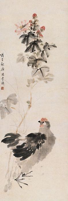 #TraditionalSumie #ChineseInkPainting #MasterZhangShuQi #ChineseFlowersAndBirdsPainting