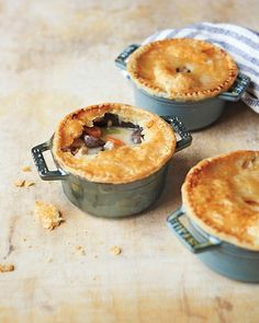 Chicken and Mushroom Potpies