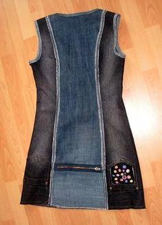сарафан из старых джинсов своими руками: 17 тыс изображений найдено в Яндекс.Картинках