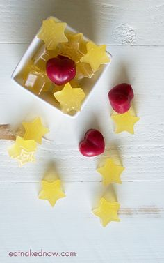 """One of our family favorites - gummies. We sneak all manner of immune-boosting goodness into them and kids think they're """"candy"""". Fine by me!   Optimal Health Gummies 