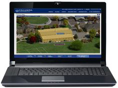 Villanova University Campus Map (Desktop Browser)