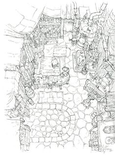 42 Best D&D Inn Maps images in 2019