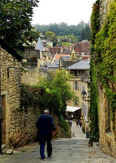 Sarlat du Canada, France.  Absolutely beautiful place.  Wonderful food.
