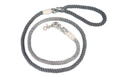 """Our Mull & Hound Artisan Pet Products feature Modern Designs inspired by Hipster Flair! Mull & Hound Rope Leashes are handcrafted with absolute love and care. ♥ We've purposely kept our rope leash design & colors simple. We wanted a minimalist design to compliment the patterns and textures in our collars without creating that """"oh-so dreaded mess"""" of colors and textures.  All leashes are made of hand dyed, 3 Strand Cotton Rope. The handle & snap hook loops are secured with stur..."""