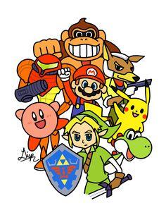 Brethren of Smash (Super Smash Bros, Nintendo 64)