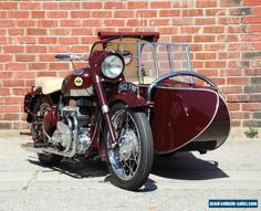 Vintage Motorcycles with side-cars