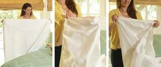 How to Fold a Fitted Sheet - Genius!