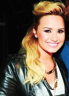 Demi Lovato she is just perfection. She is so inspirational and amazing. Thank you so much for being there when no one else was. Love you Demi.  ~Lovatic