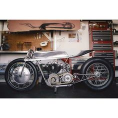 Hazan Motorworks: In progress- Supercharged Ironhead