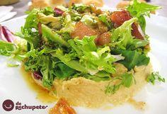 """Ensalada marinera de San Juan en la TVG, programa """"A Solaina"""" http://www.recetasderechupete.com/ensalada-marinera-de-san-juan-receta-con-sardinas/3724/ #derechupete"""