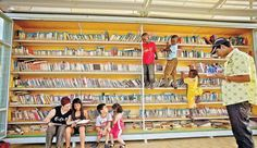 The Garden Library in Lewinsky Park, Tel Aviv, uses books--being sources for education and cultural empowerment--to build relationships across different communities and promote a sense of place in their shared neighborhood. The open-air library has 3,500 books in 16 different languages and hosts classes and cultural events. It acts as a community center, aligning the public together under a common love of books and a project of #Placemaking. #LQC