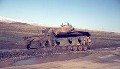 Syrian Stug III destroyed during Six Day War