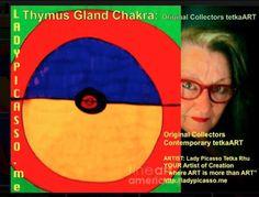 "LadyPicasso.me Tetka Rhu - Google+ Thymus Gland Chakra: Original Collectors Healing tetkaART SOLD   ARTIST: Lady Picasso Tetka Rhu YOUR Artist of Creation ""tetkaART 4 YOU"" http://ladypicasso.me  #tetka #arts #artist #investment #business #entrepreneurs #SOLD"