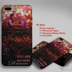 Tangled You Are My New Dream - Personalized iPhone 7 Case, iPhone 6/6S Plus, 5 5S SE, 7S Plus, Samsung Galaxy S5 S6 S7 S8 Case, and Other